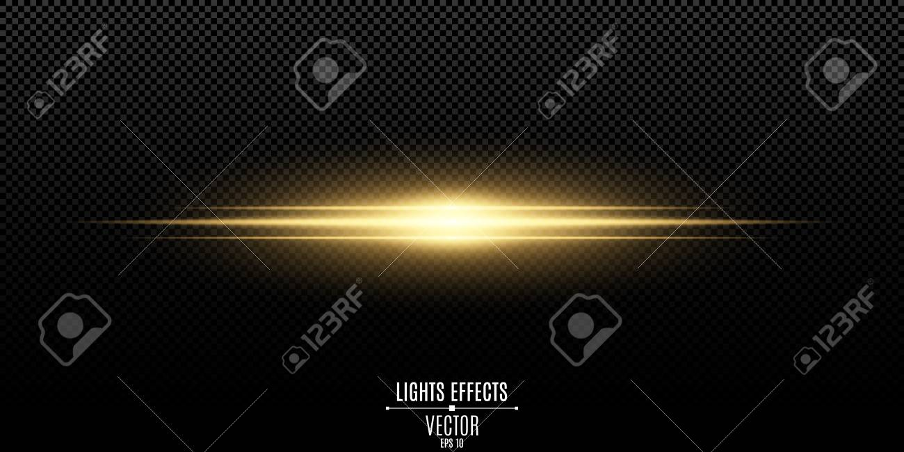 Abstract Magic Stylish Light Effect On A Black Background Gold Royalty Free Cliparts Vectors And Stock Illustration Image 101122415