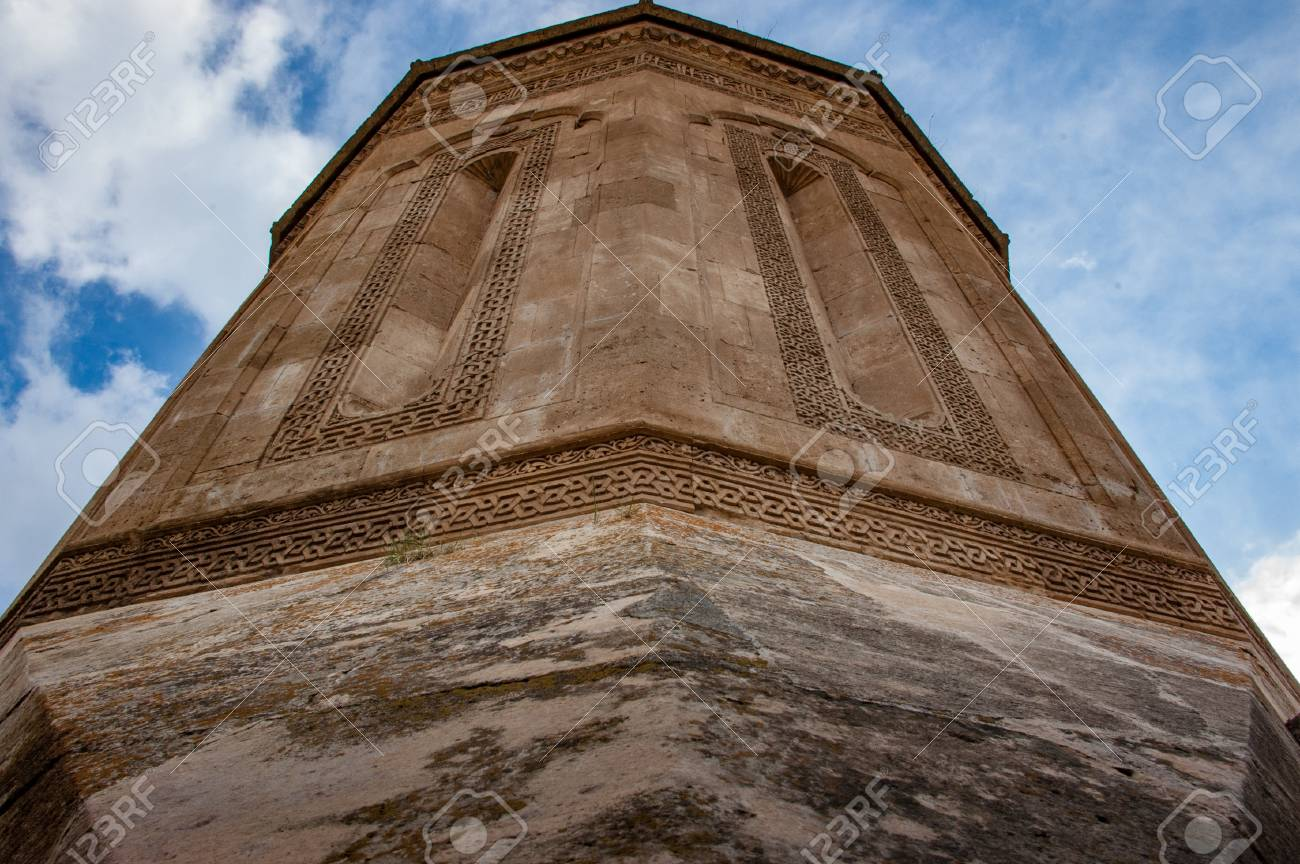 The view of Mouseloum (Halime Hatun)  Great architecture details