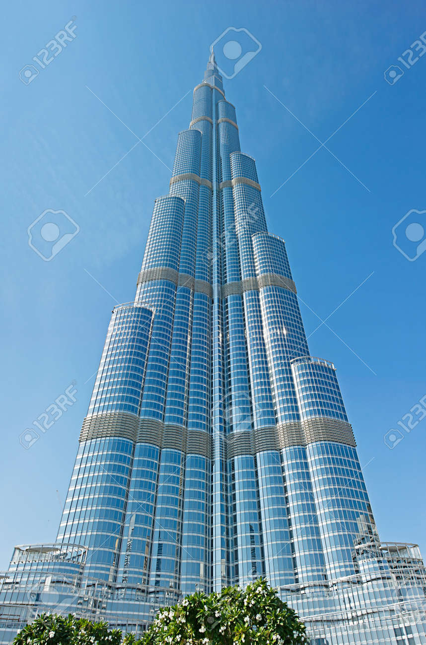 Dubai Uae November 14 Burj Khalifa The World S Tallest Tower