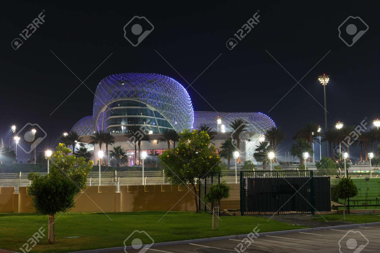 Circuito Yas Marina : Abu dhabi emiratos Árabes unidos 05 de noviembre: la vista de