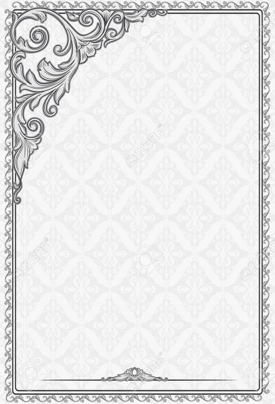 Vintage Blank Royalty Free Cliparts Vectors And Stock