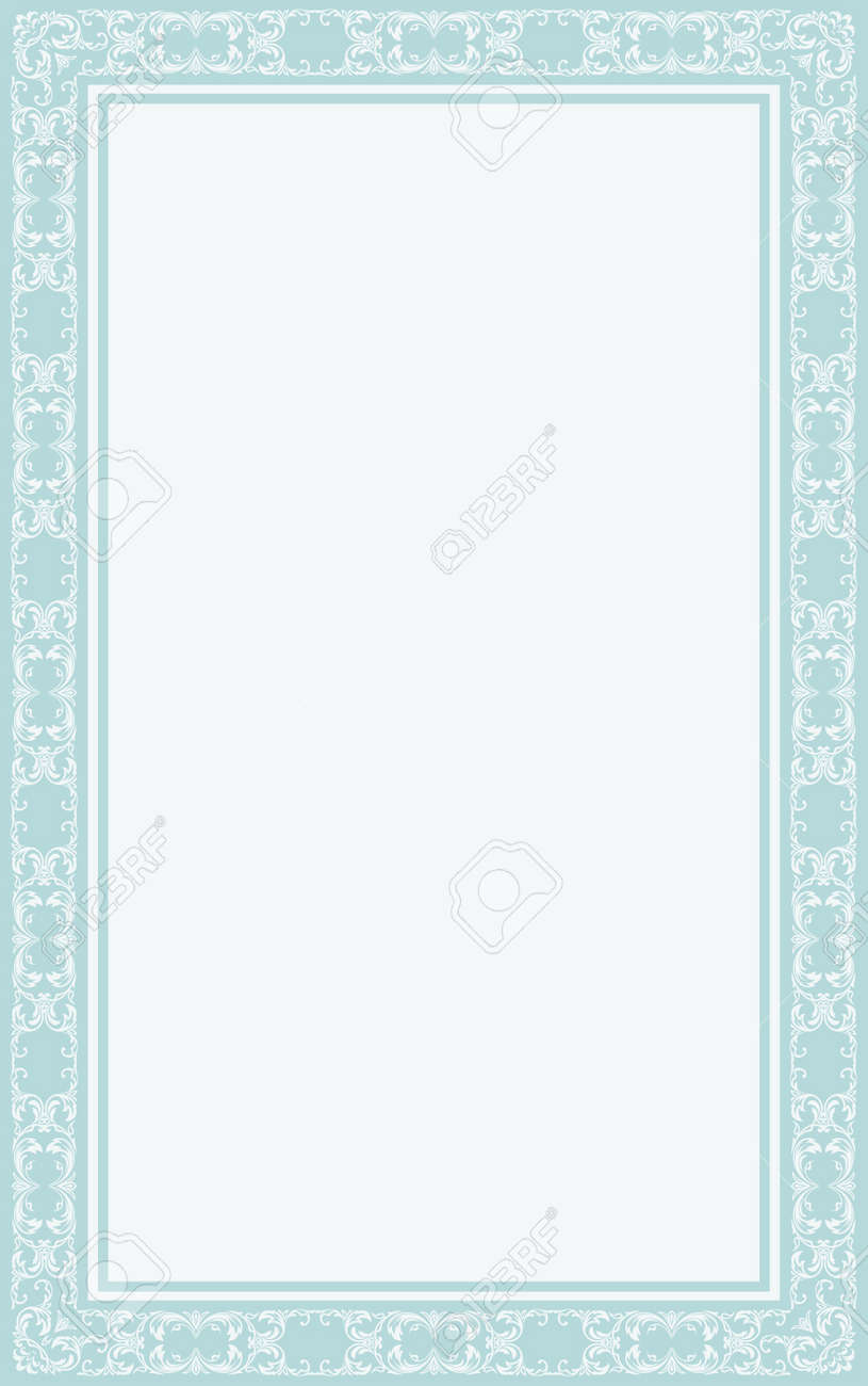 vintage blank for certificates Stock Vector - 15990390