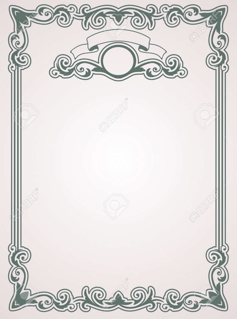 Certificate template vintage background royalty free cliparts certificate template vintage background stock vector 15990386 yelopaper Gallery