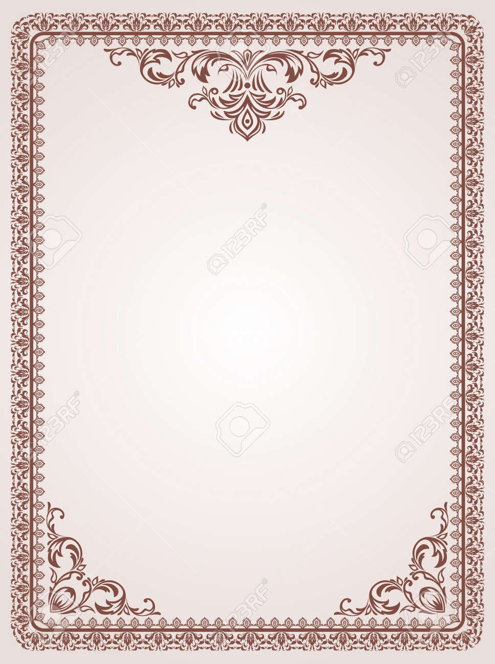 Certificate template vintage background royalty free cliparts certificate template vintage background stock vector 15990396 yelopaper Gallery