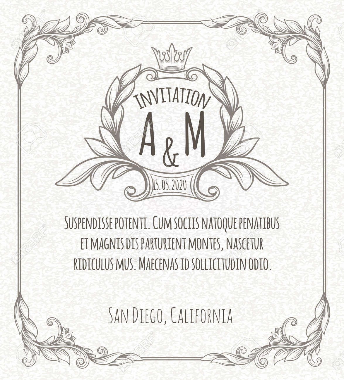 31201028 page decoration template vintage frame Stock Vector border free html website templates with login page,html free download on login screen template html