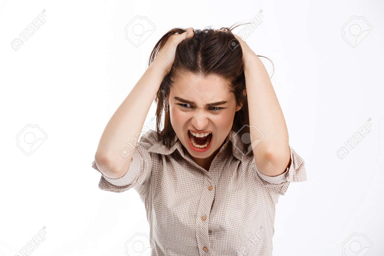 Crazy Girl Screaming
