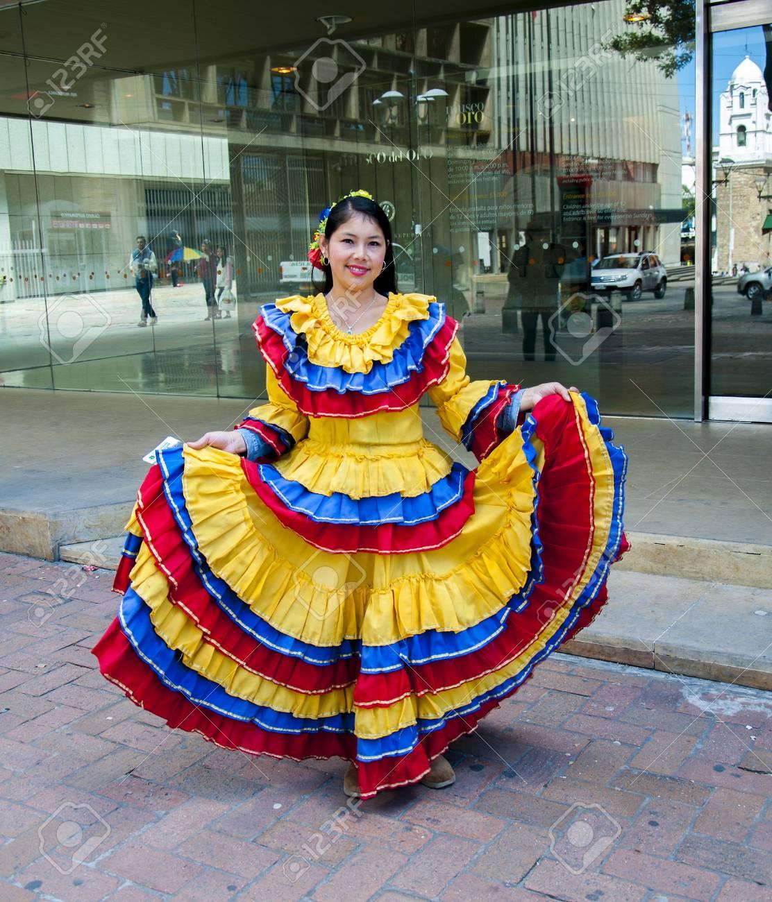 Femme colombien