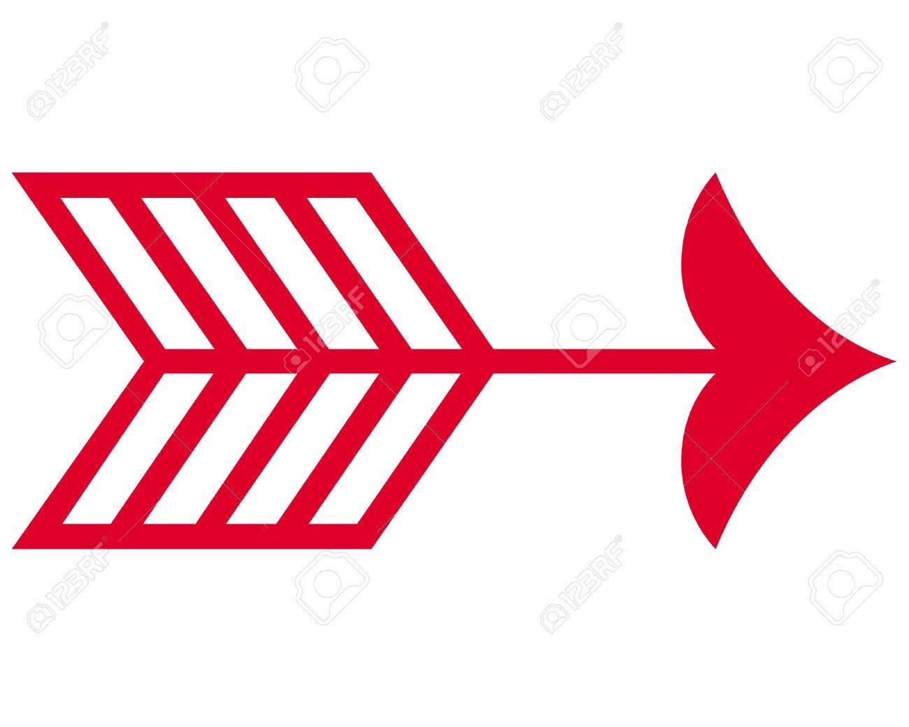 Red Arrowhead Logo art arrowhead Arrow symbol