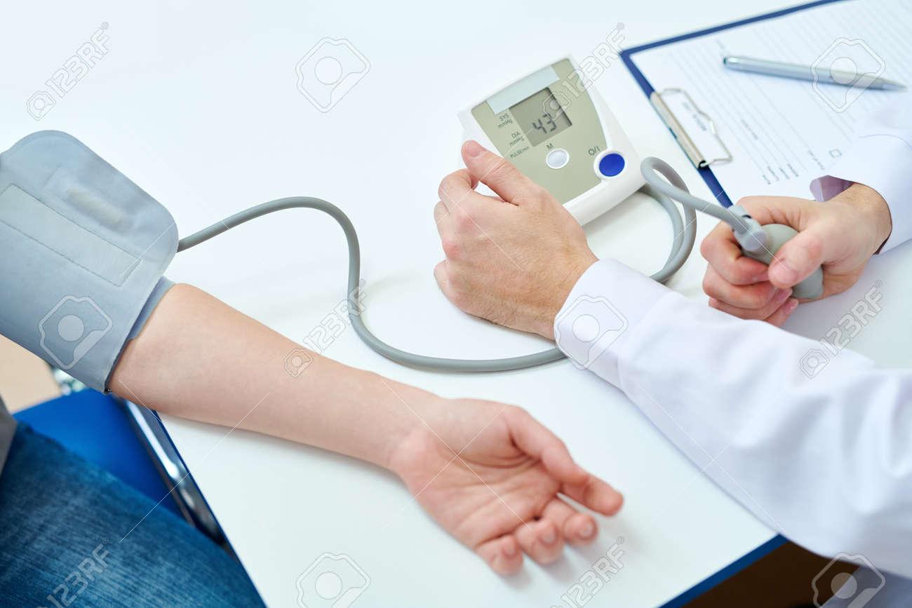 Measuring Blood Pressure - 100751671