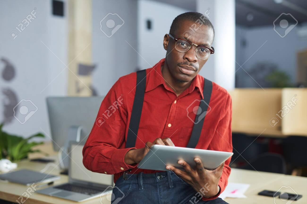 African Businessman Posing - 120890966