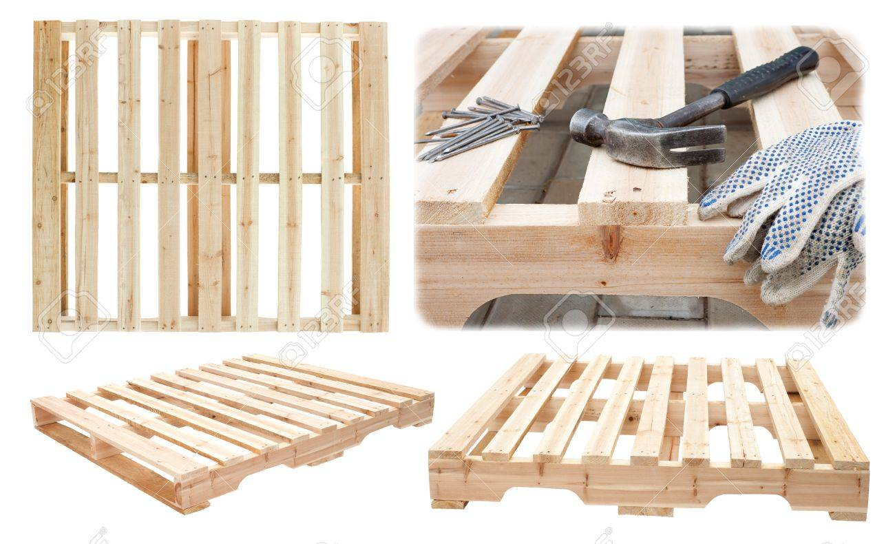 Manufacture Of Wooden Platforms For The