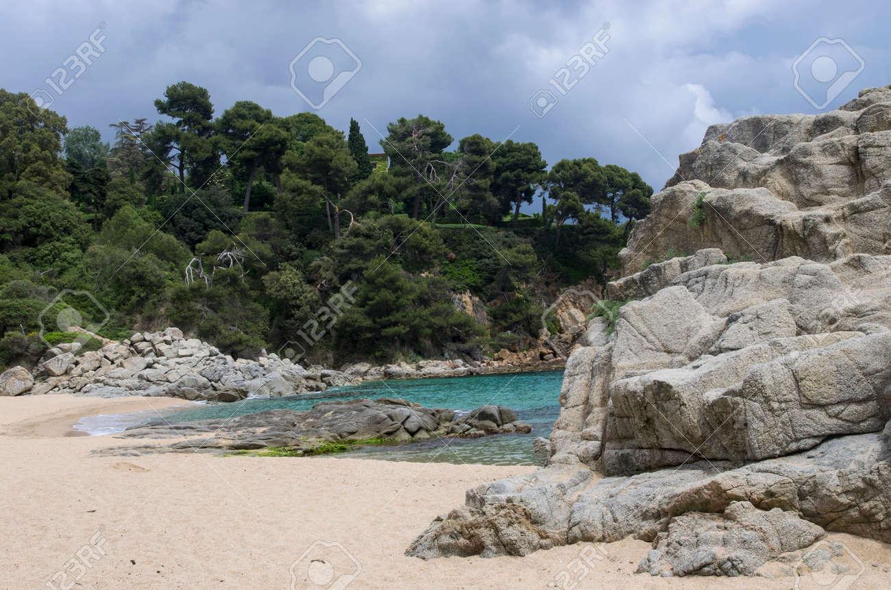 Small beach on the coast of spain - 146830925