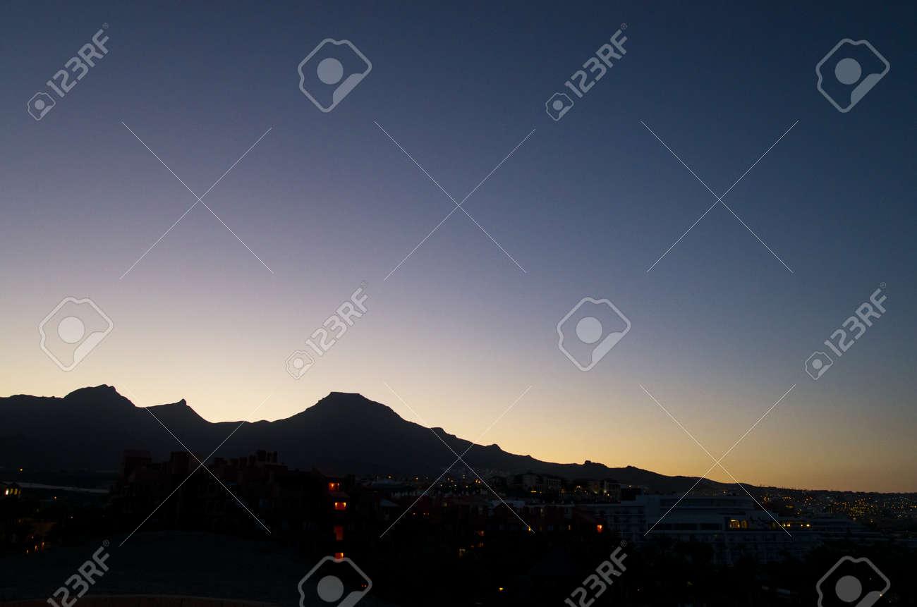 Dawn landscape on the island of tenerife - 146354902
