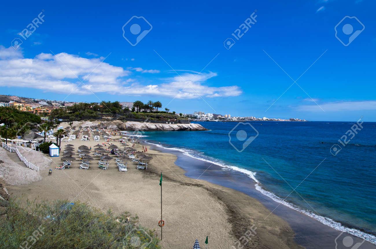 Beach on Tenerife island, daytime landscape - 164946894