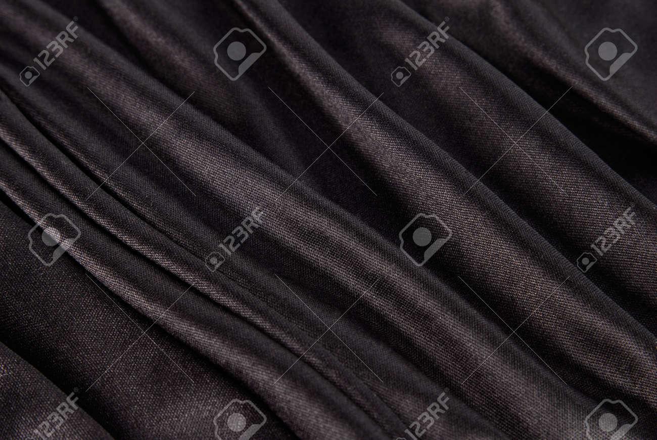 black silk texture Stock Photo - 6512576