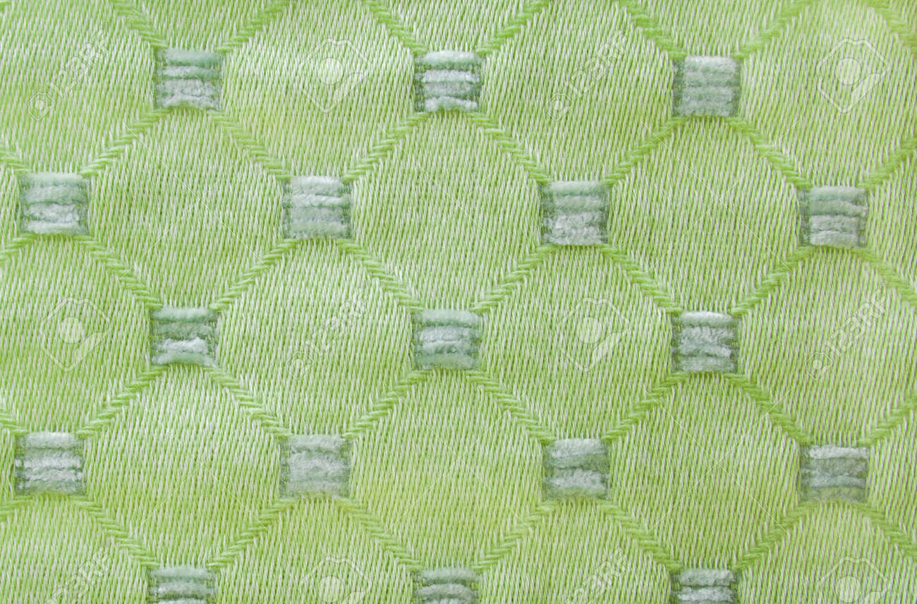 Green Curtain Fabric Texture