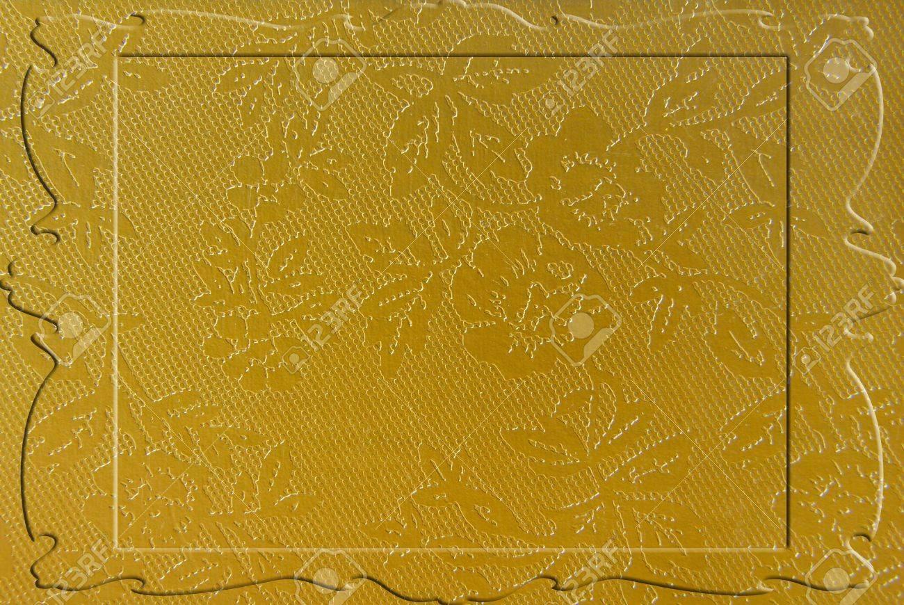 golden border frame Stock Photo - 6853696