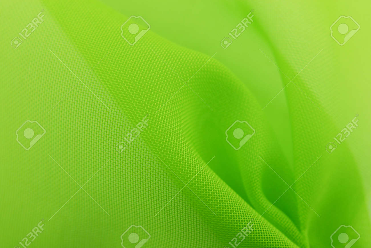 green fabric texture background Stock Photo - 7295114