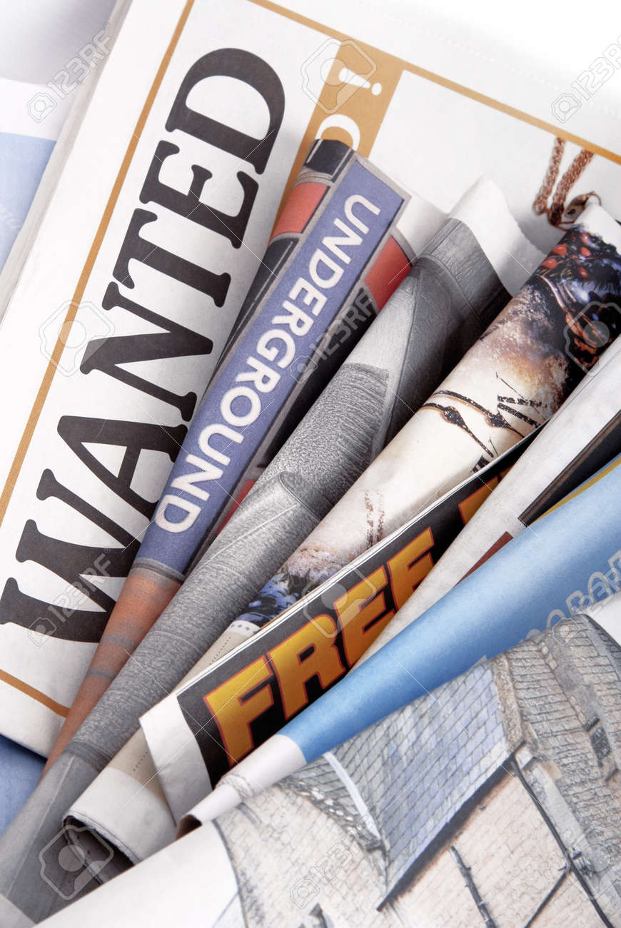 stack of various newspapers Stock Photo - 17212054