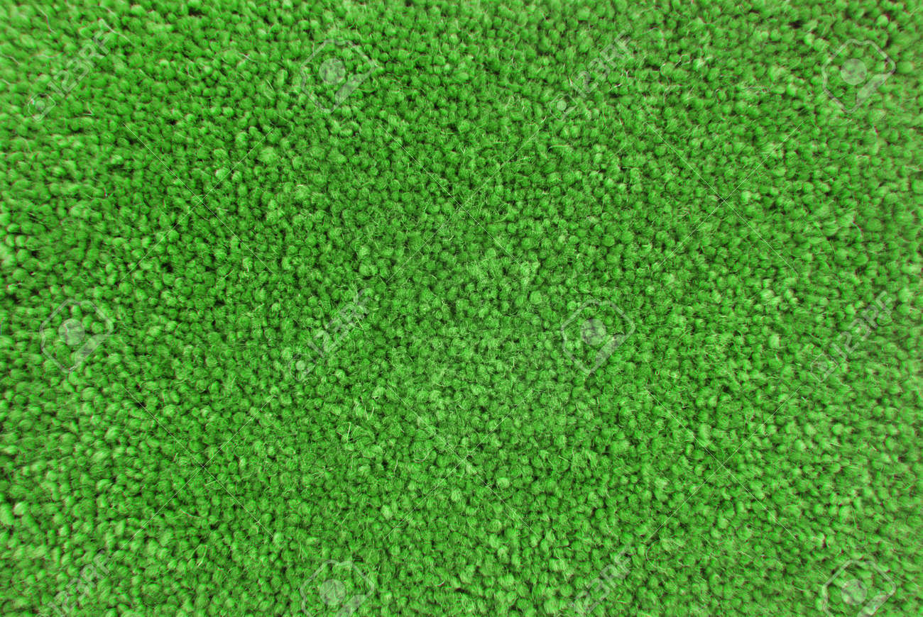 green carpet texture. Green Carpet Texture Macro Stock Photo - 18850622