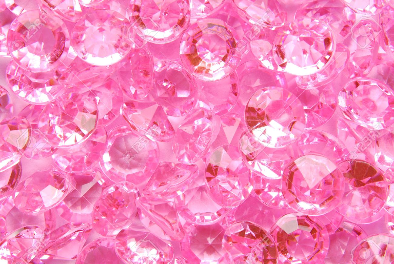 close up of the pink diamond background stock photo picture and