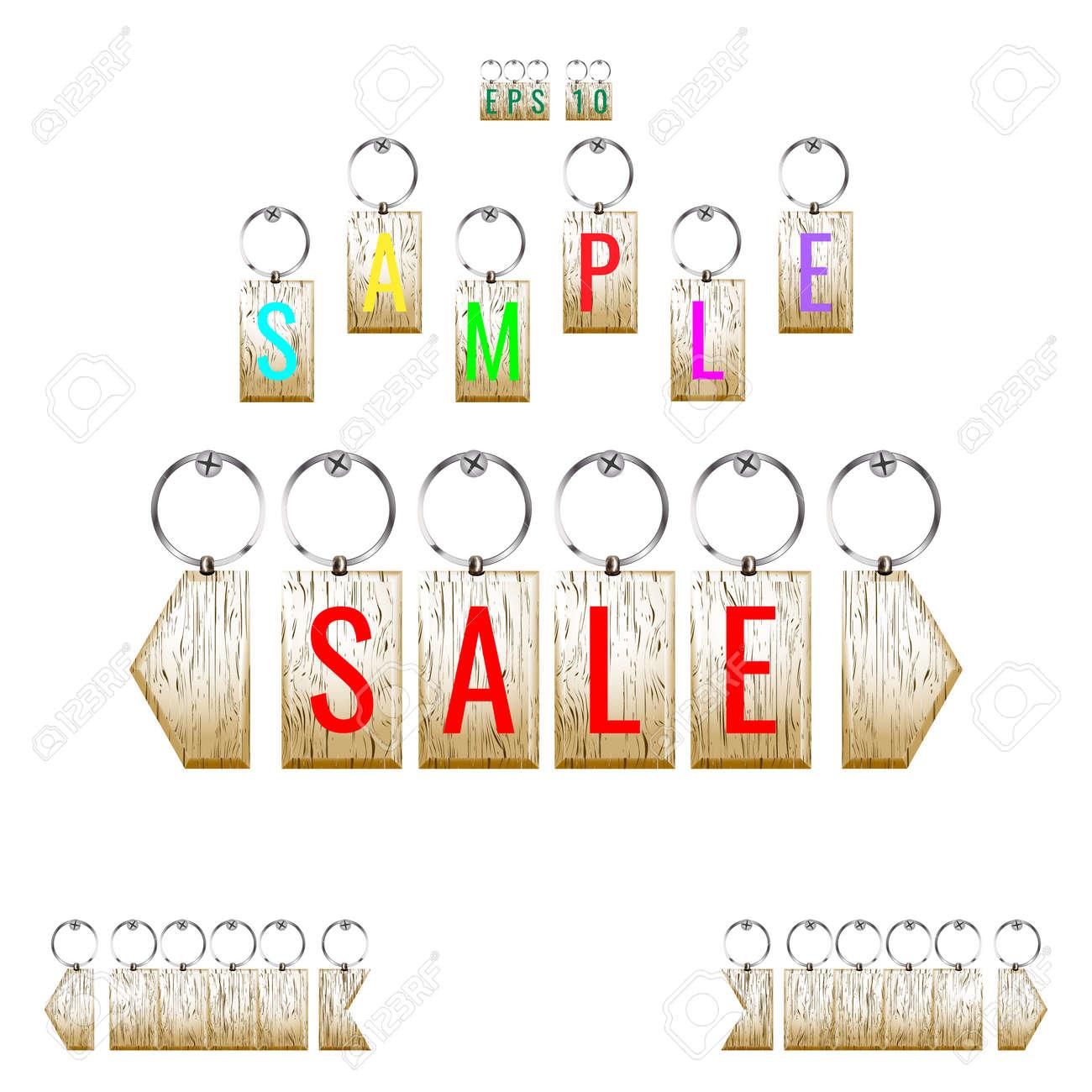 key chain pendant template trinket royalty free cliparts vectors