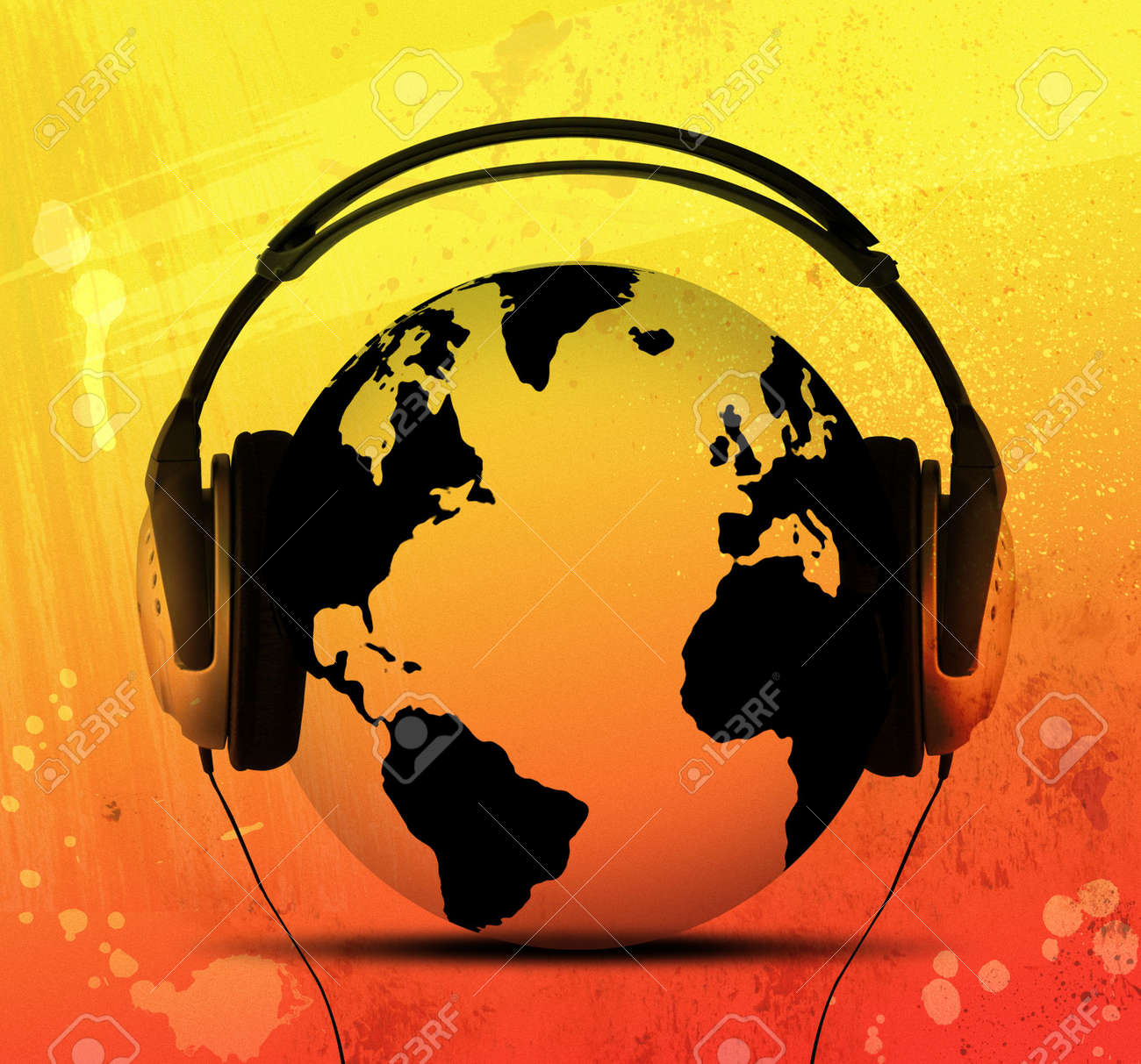 World Of Music Stock Photo, Picture And Royalty Free Image. Image ...