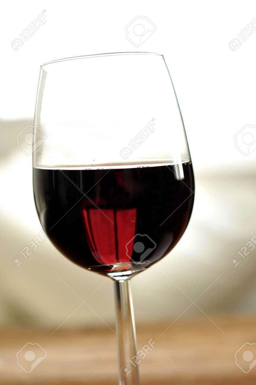 Glass of fine italian red wine, selective focus Stock Photo - 16675071