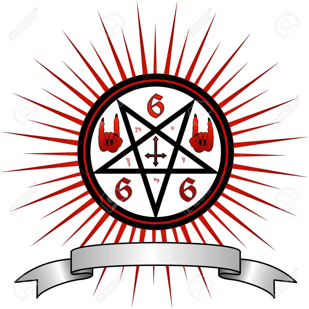 Pics of satanic symbols choice image symbol and sign ideas illustration full of magic and satanic symbols royalty free illustration full of magic and satanic symbols buycottarizona