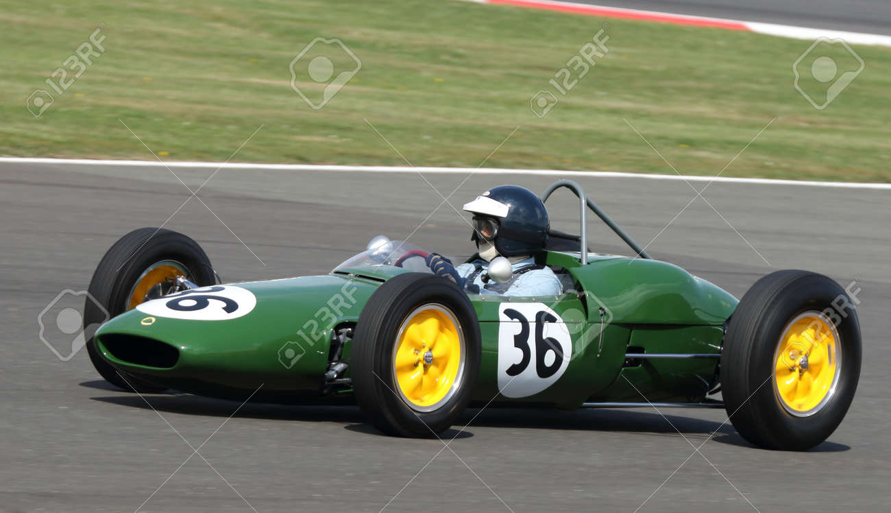 Lotus Classic Formula One Grand Prix Car Racing At The