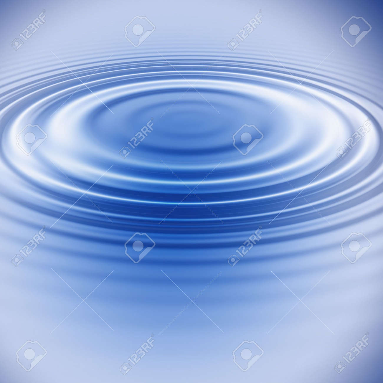 blue water ripples Stock Photo - 413348