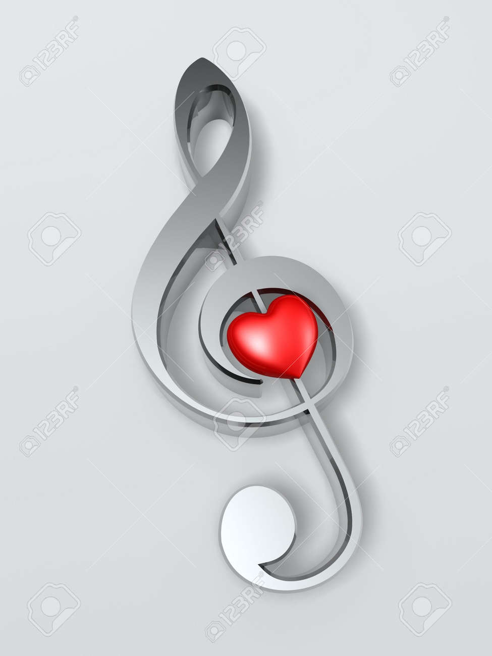 Music symbol and heart isolated on white background stock photo music symbol and heart isolated on white background stock photo 6548685 biocorpaavc Images