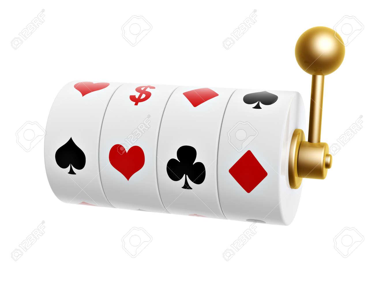Hearts Poker Machine Slot Machine With Poker Suits