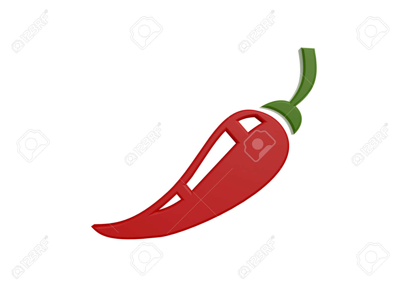 Red hot pepper symbol isolated on white background stock photo red hot pepper symbol isolated on white background stock photo 22502795 biocorpaavc