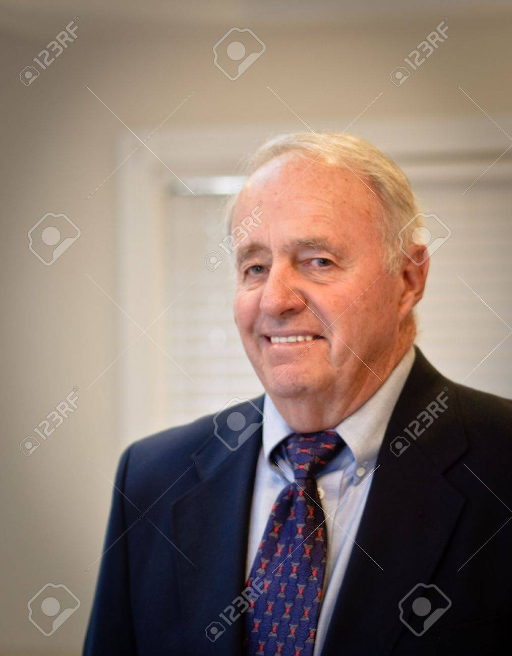 Senior male dressed in suit and tie Stock Photo - 7504841
