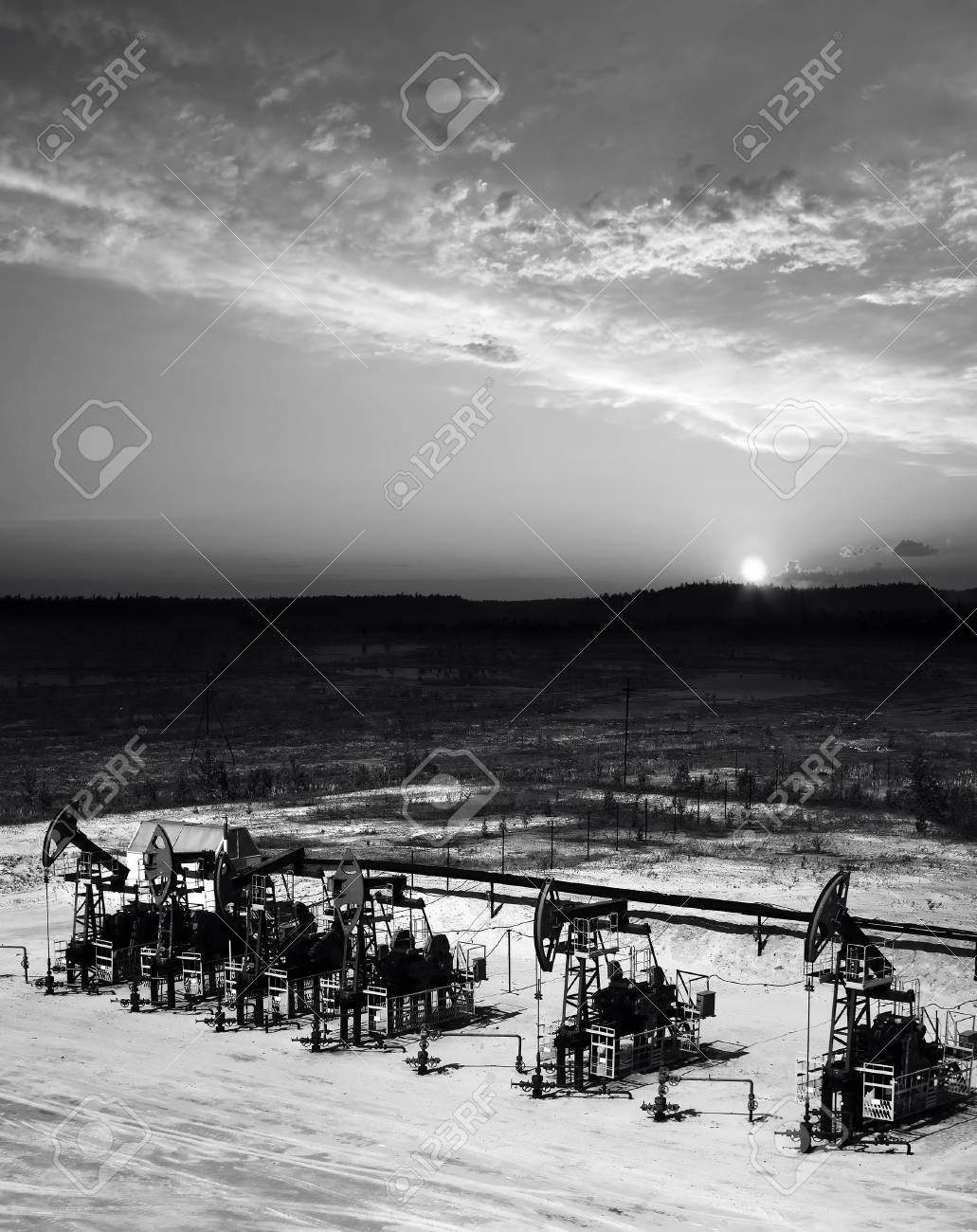 How to extract oil and gas in Siberia