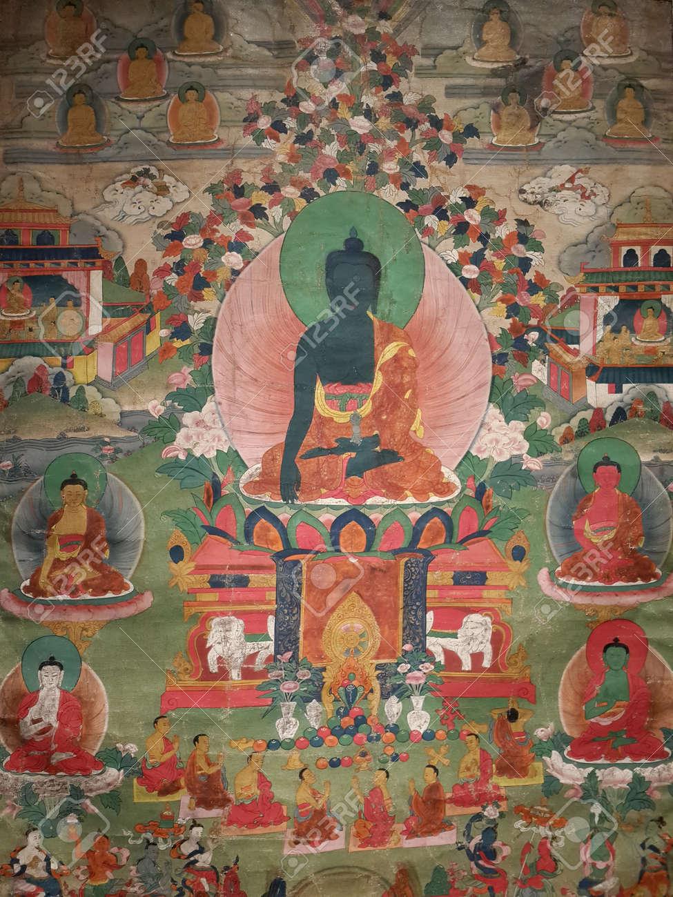 中国古代 Tangka と仏教美術 の...