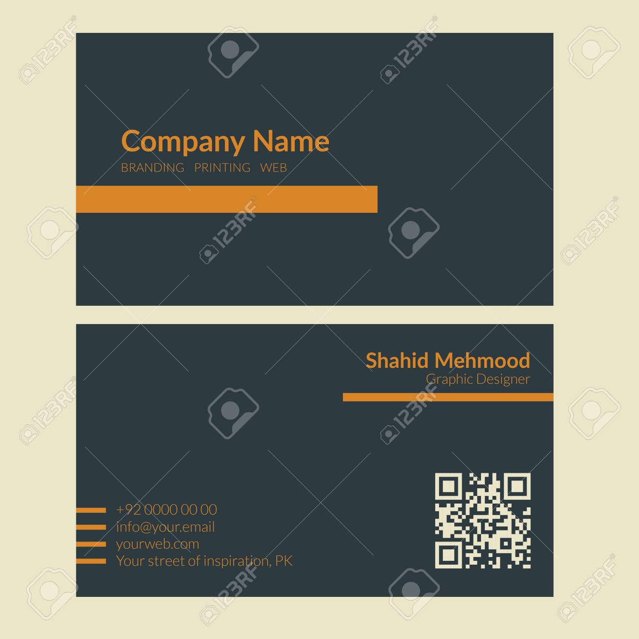 Modern simple creative elegant business card template 09 royalty modern simple creative elegant business card template 09 stock vector 38754928 fbccfo Gallery