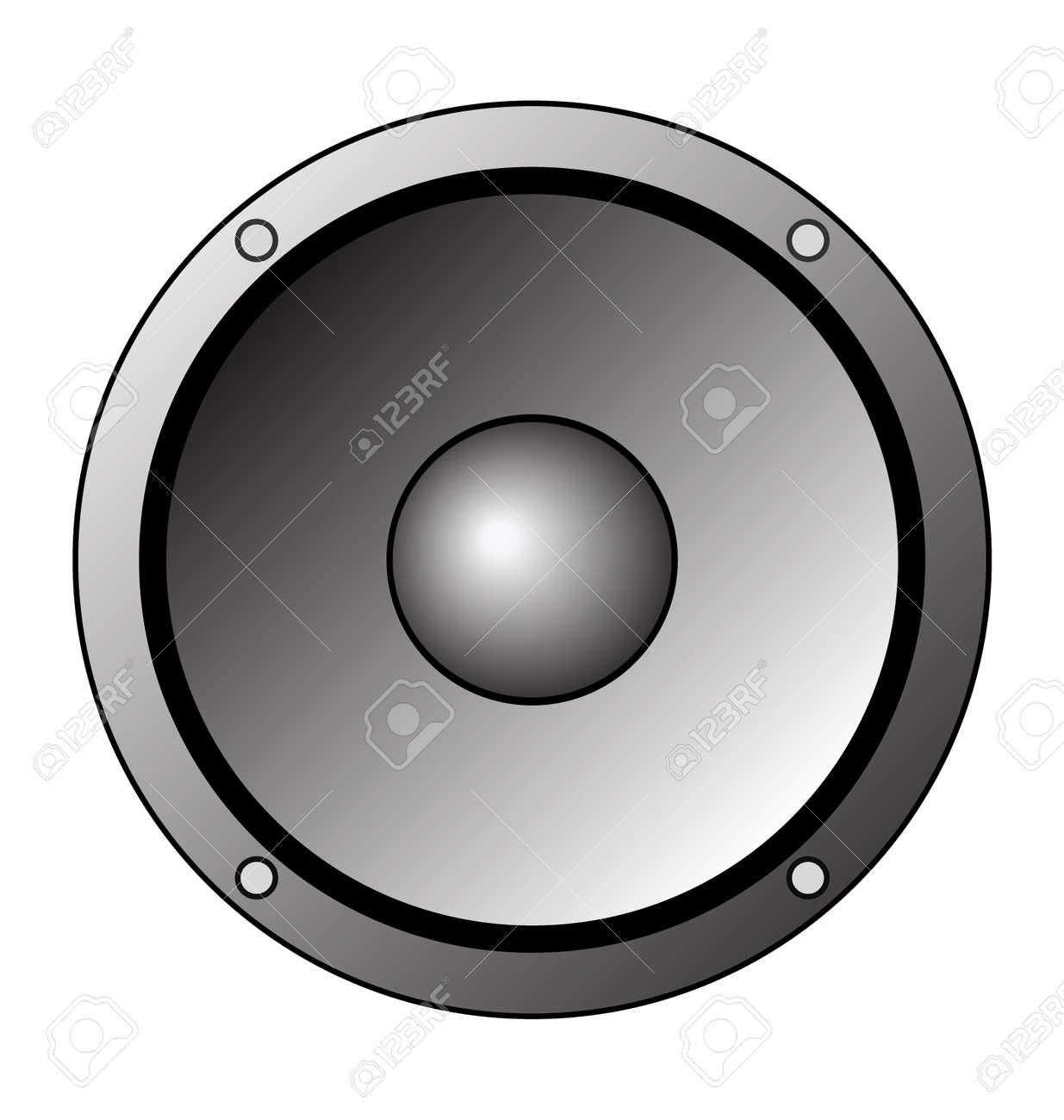 Grey Toned Speaker Clip Art Logo Royalty Free Cliparts, Vectors ...