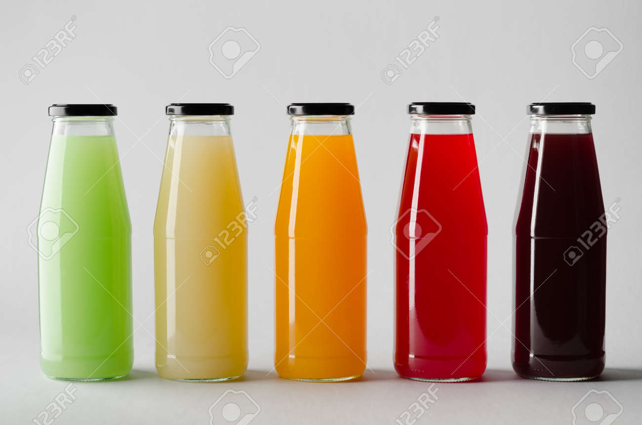 juice bottle mock up multiple bottles stock photo picture and