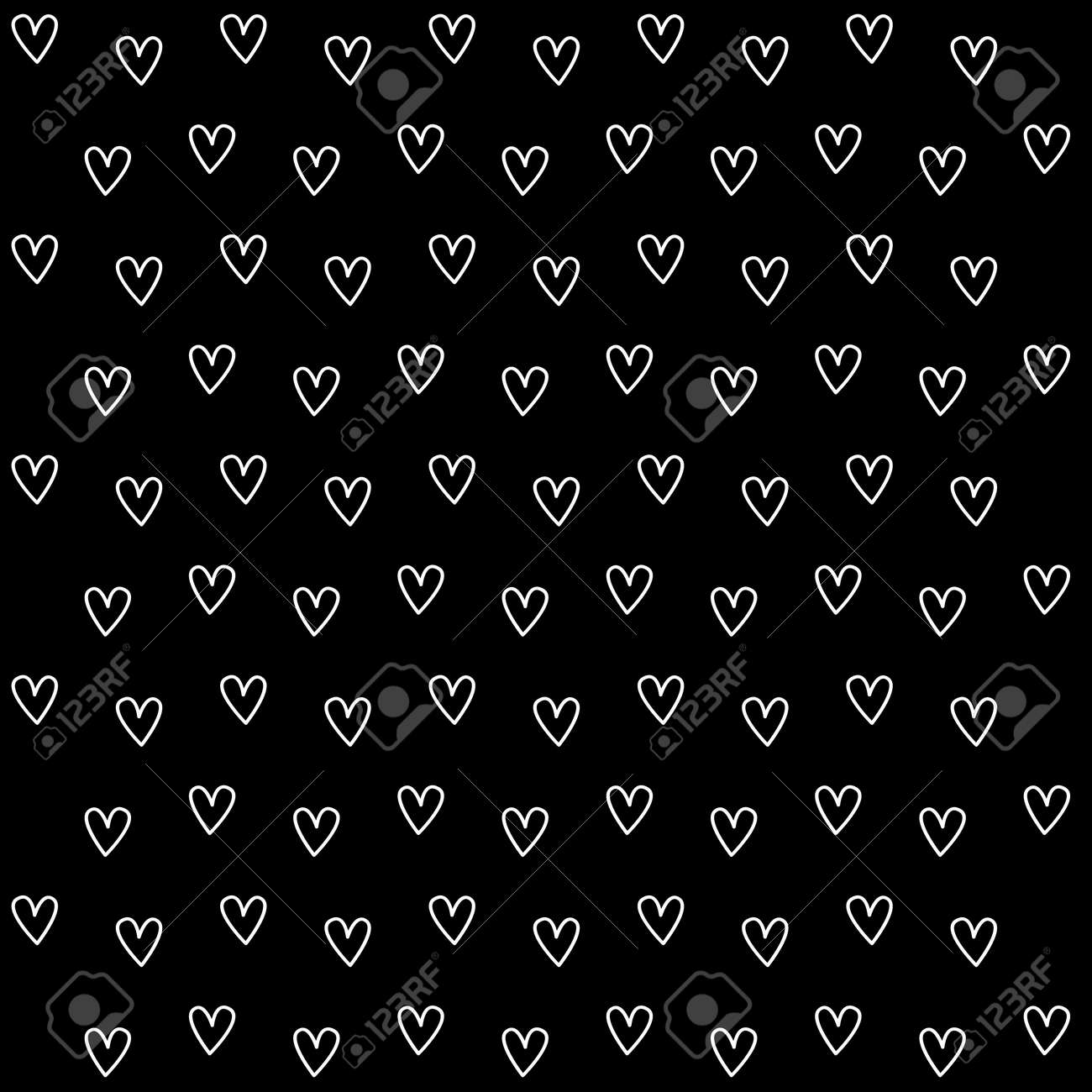 Black Heart Wallpaper Great For Any Use