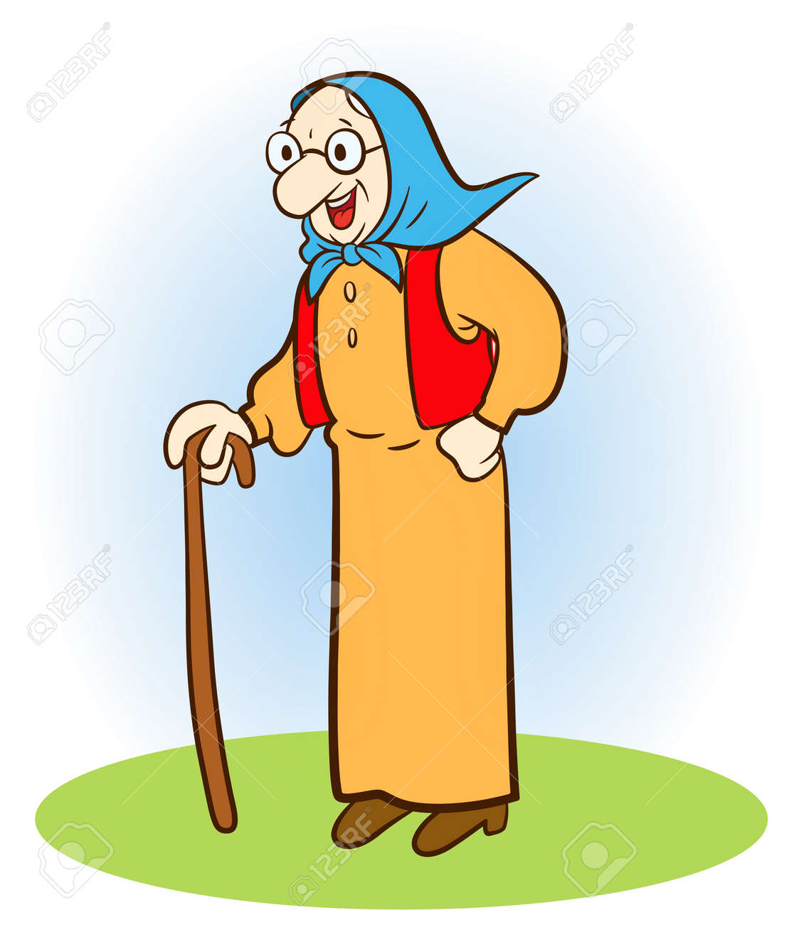 old woman royalty free cliparts vectors and stock illustration rh 123rf com funny old woman clipart grumpy old woman clipart