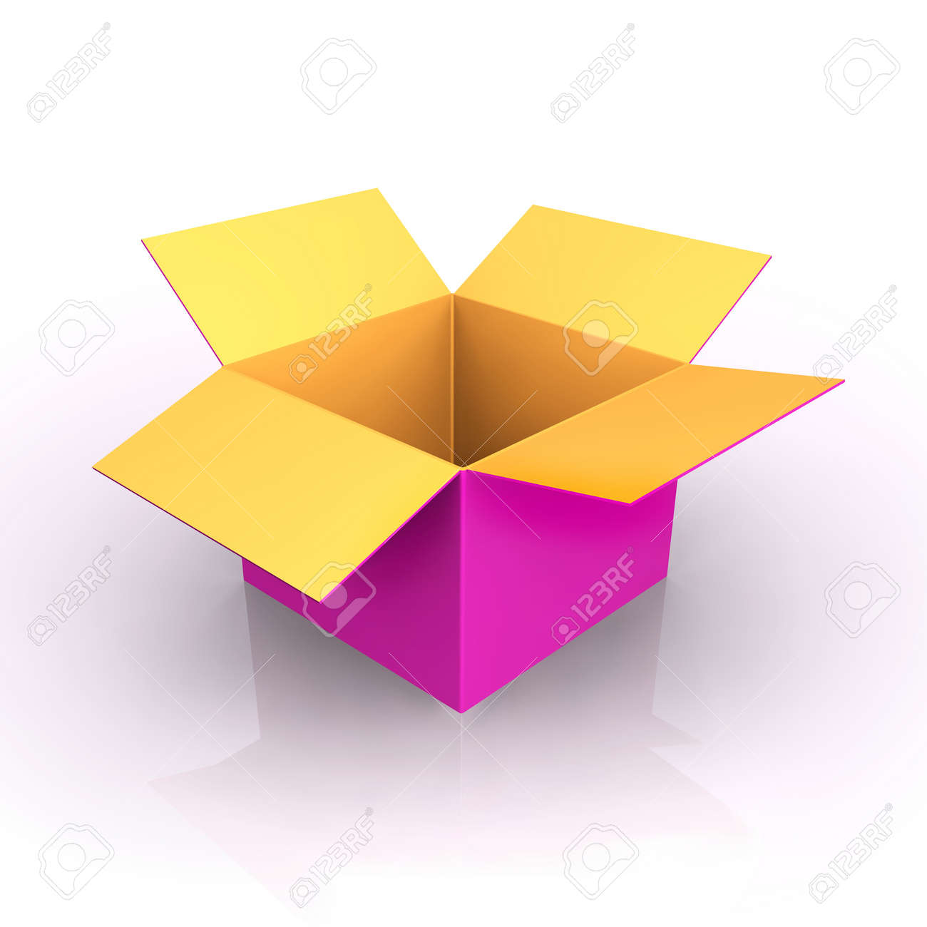 Open Box Stock Vector - 18087785
