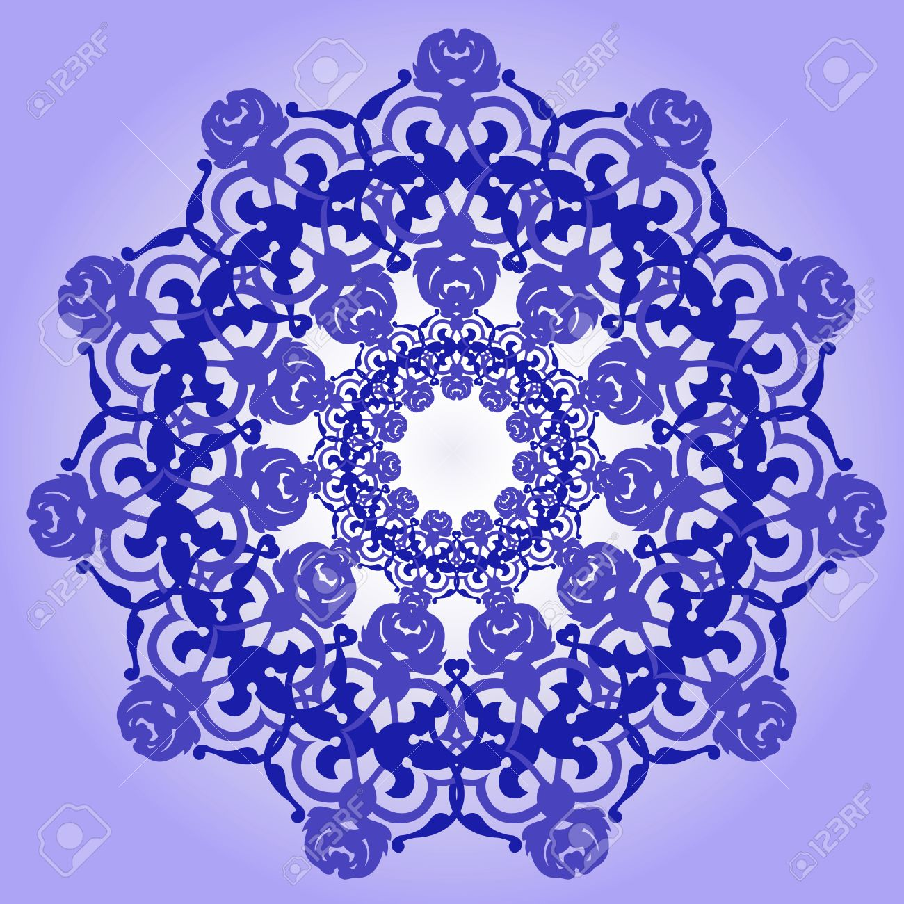 Vector of traditional Persian-Arabic-Turkish-Islamic Pattern Stock Vector - 19089748