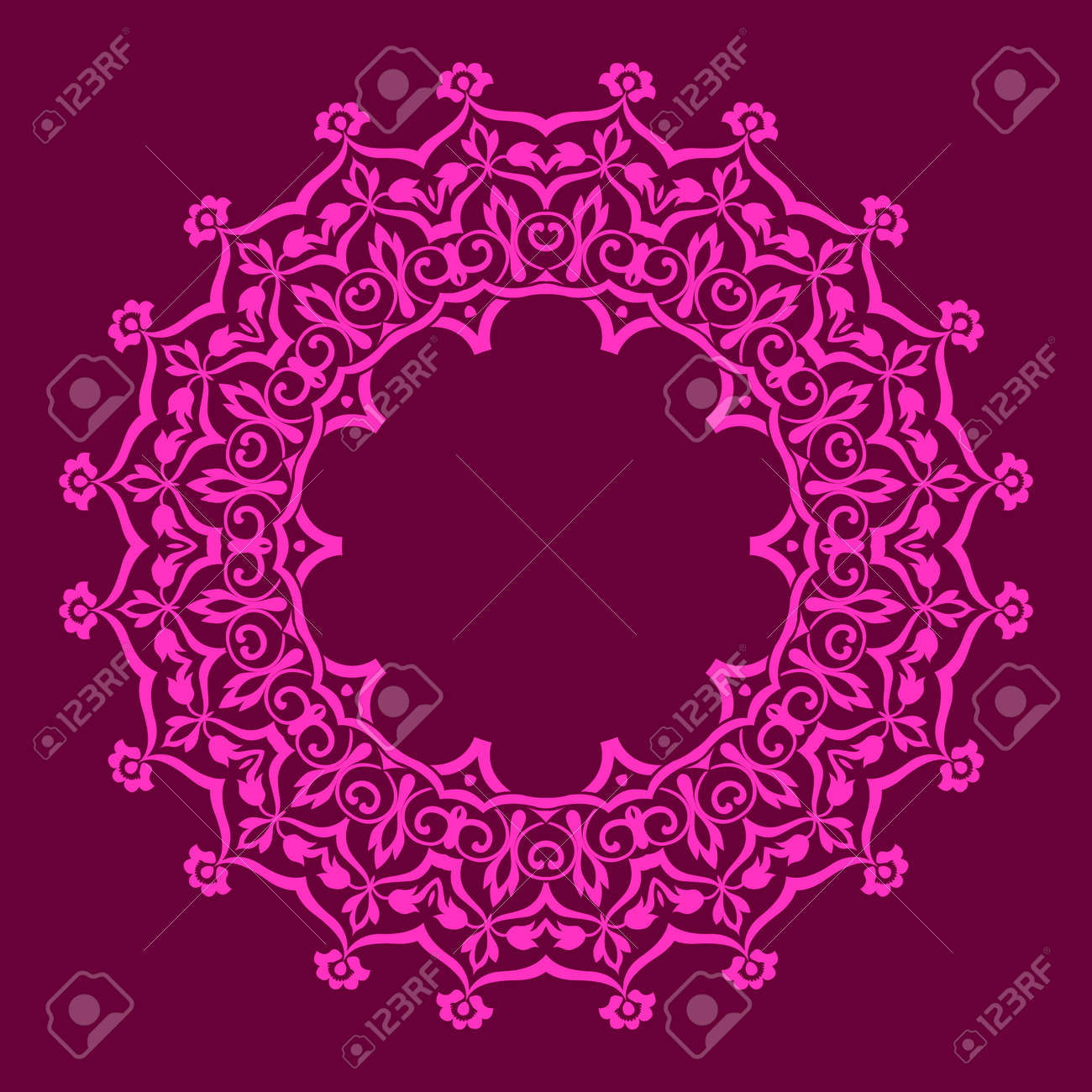traditional Persian-Arabic-Turkish-Islamic Pattern Stock Vector - 19328897