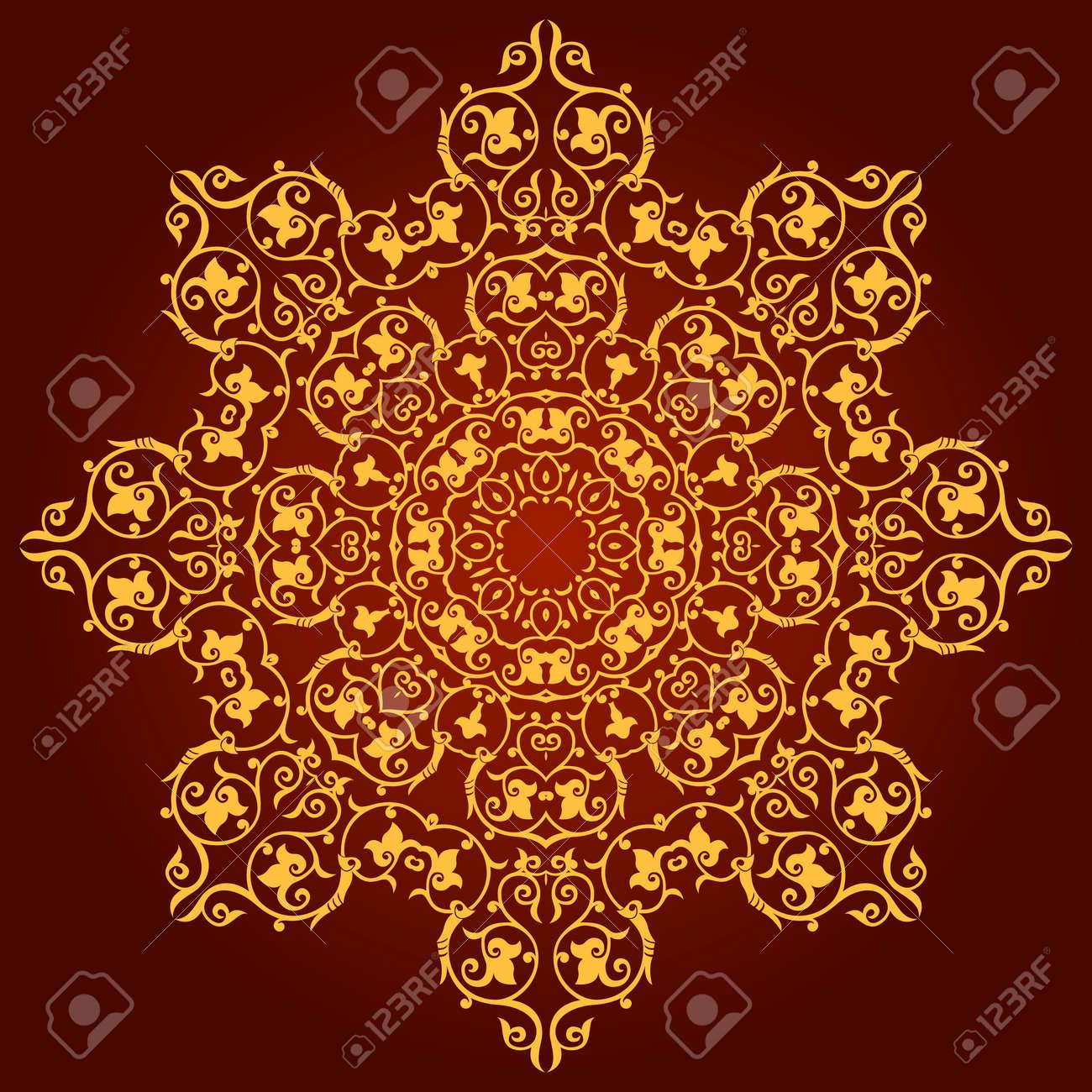 Traditional Persian-Islamic-Arabic-Turkish-Indian Pattern Stock Vector - 19866742