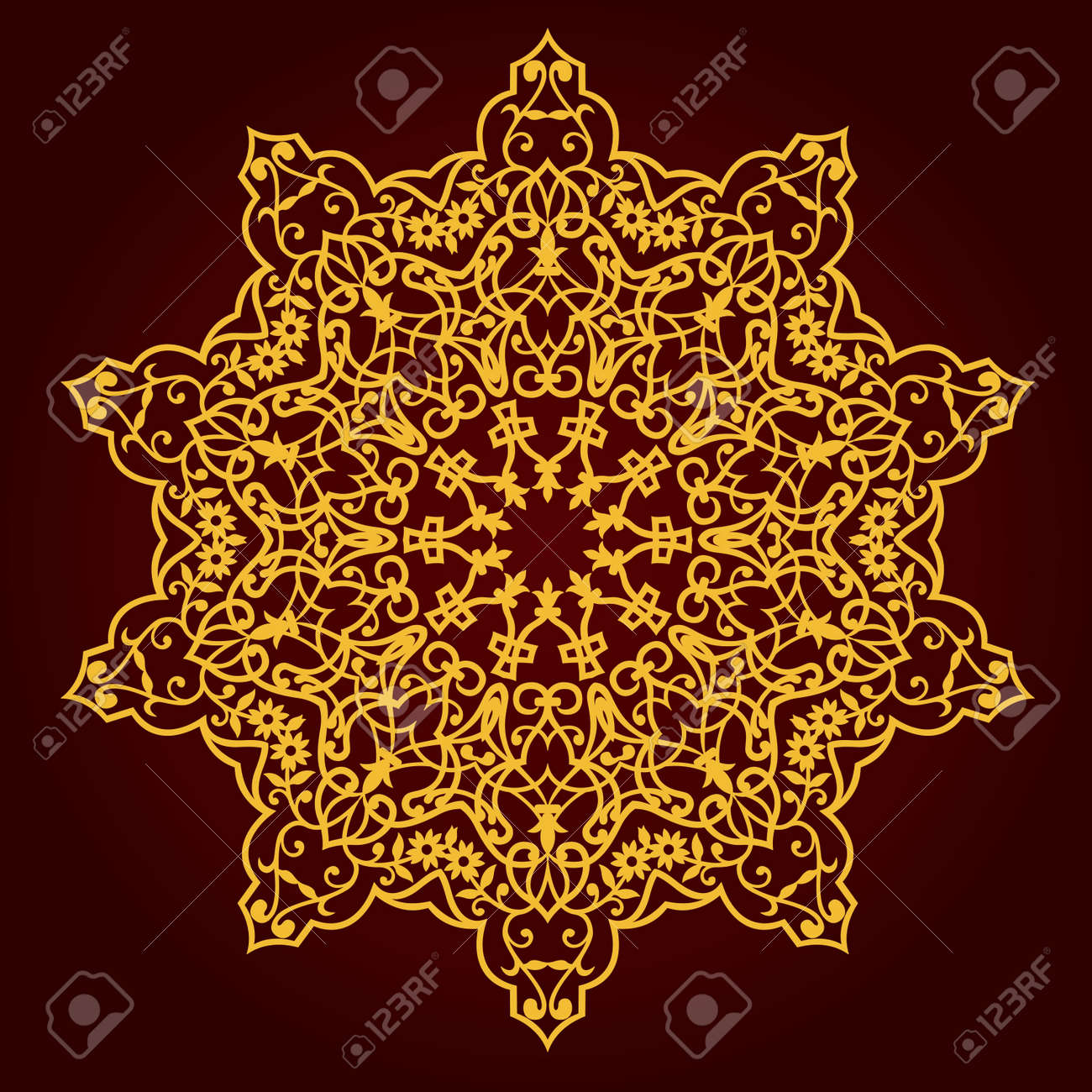 traditional Persian-Arabic-Turkish-Islamic Pattern - 21124197