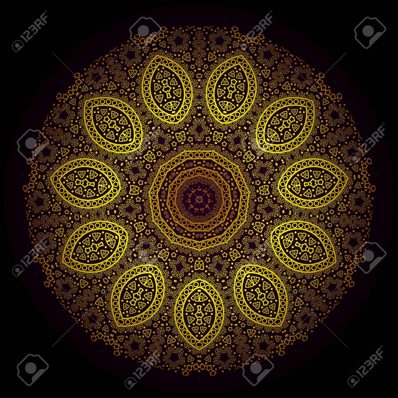 Vector of traditional Persian-Arabic-Turkish-Islamic Pattern Stock Vector - 21317585