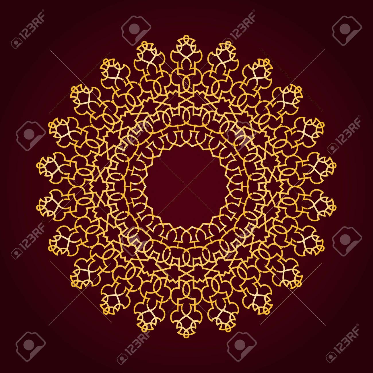 Vector of traditional Persian-Arabic-Turkish-Islamic Pattern - 21317607