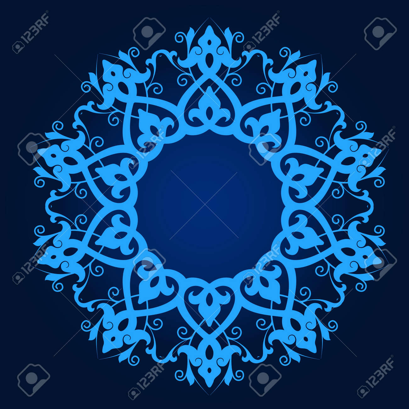 Vector of traditional Persian-Arabic-Turkish-Islamic Pattern Stock Vector - 21317649